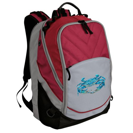 Blue Crab Backpack Our Best Padded Blue Crab Laptop Bag