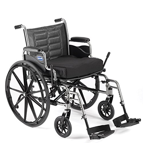 Bariatric Wheelchair - Heavy Duty with Desk Length Arms & Swingaway Footrests - 450lb Capacity - Invacare Tracer IV - Size 22 x 18