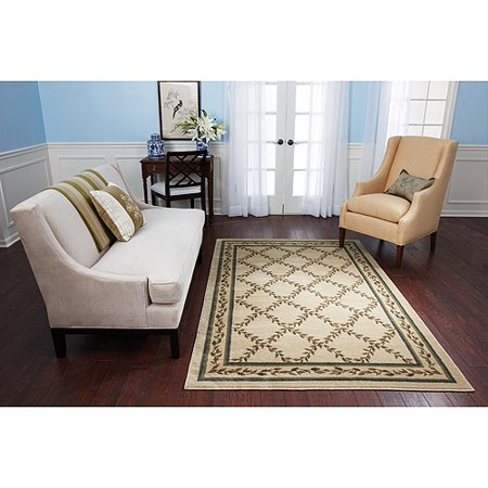 Better Homes And Gardens Tan Trellis Area Rug 5x7