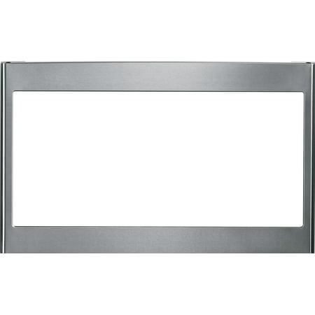 GE - 27u0022 Built-In Trim Kit for Select GE Microwaves - Stainless steel