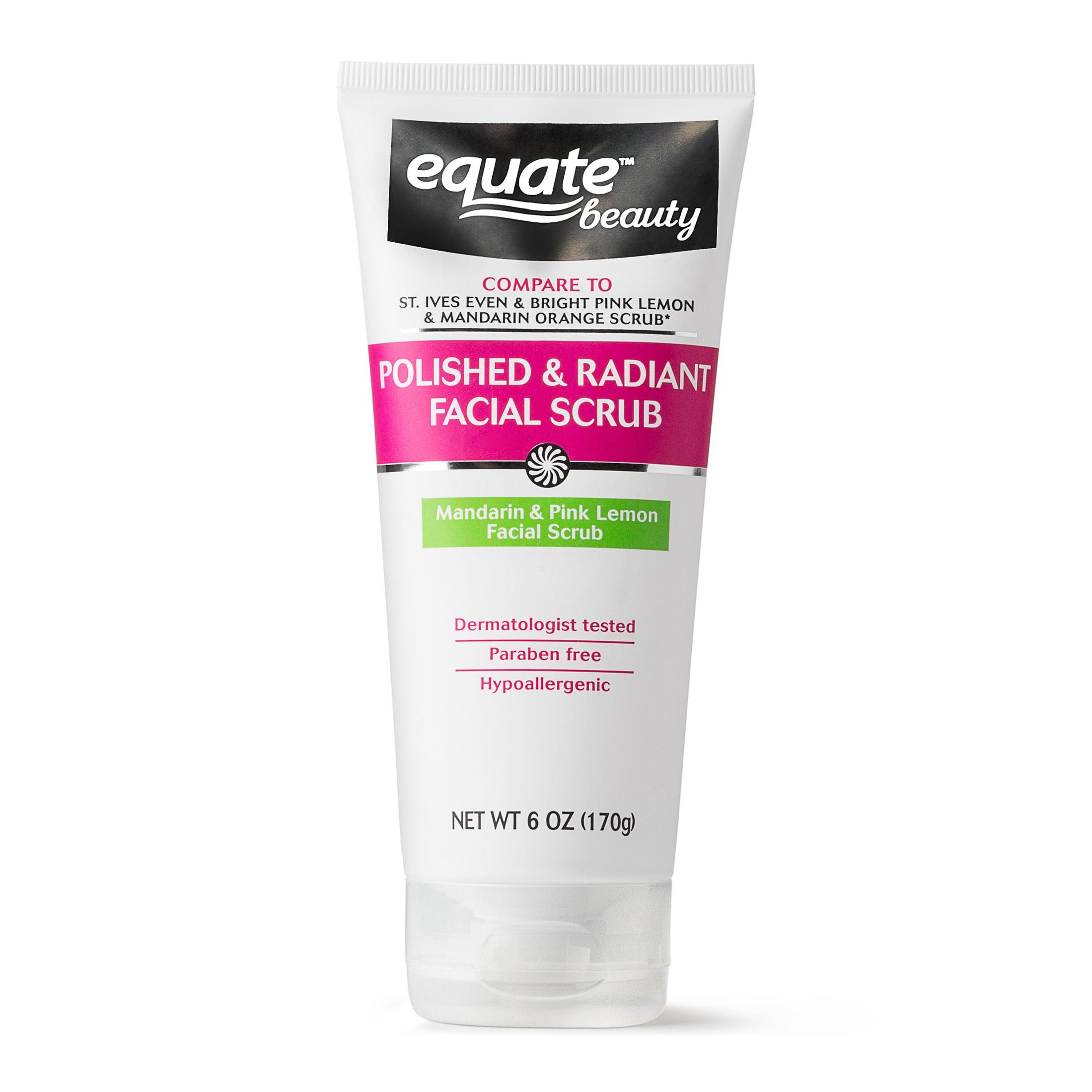 Equate Beauty Polished Radiant Facial Scrub Orange Pink Lemon