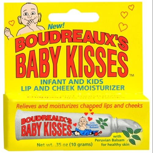 Boudreaux's Baby Kisses Lip and Cheek Moisturizer 10 g (Pack of 3)