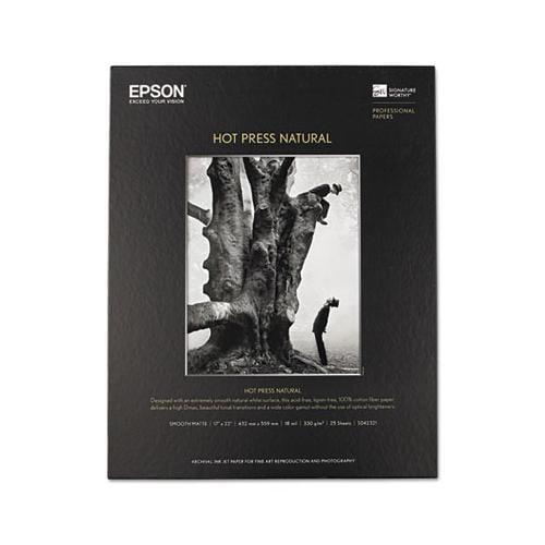Hot Press Natural Fine Art Paper EPSS042321