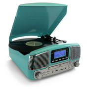 Best Record Players - Trexonic Retro Record Player with Bluetooth, CD Players Review