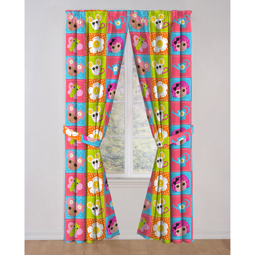 Lalaloopsy Curtain Drapes, Set of 2