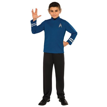 Classic Star Trek Costume (Star Trek Boys Beyond: Spock Classic Child Halloween)