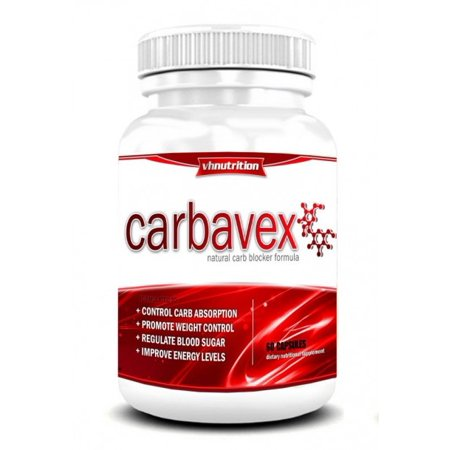 CarbaVex Carb Blocker | Carbohydrate and Fat Blocker Supplement to Aid Weight Loss for Men and Women