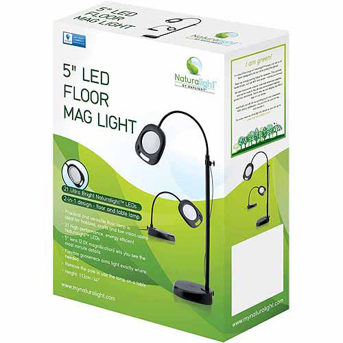 Daylight Naturalight LED Floor Mag Light