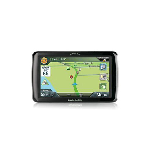 "Refurbished ""Magellan RoadMate RV9365T-LMB 7 inch Automotive GPS"" by Magellan"