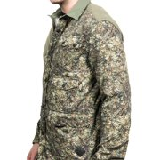 Moncler Men's Camoflauge Flannel Shell Shirt Green Image 2 ...