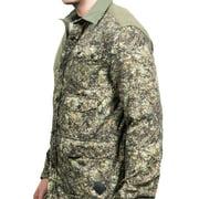 Moncler Men's Camoflauge Flannel Shell Shirt Green Image 2 ...