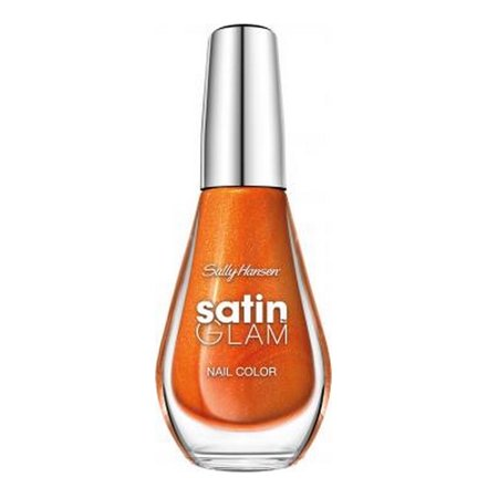 (3 Pack) SALLY HANSEN Satin Glam Shimmery Matte Finish Nail Color - Sun Sheen