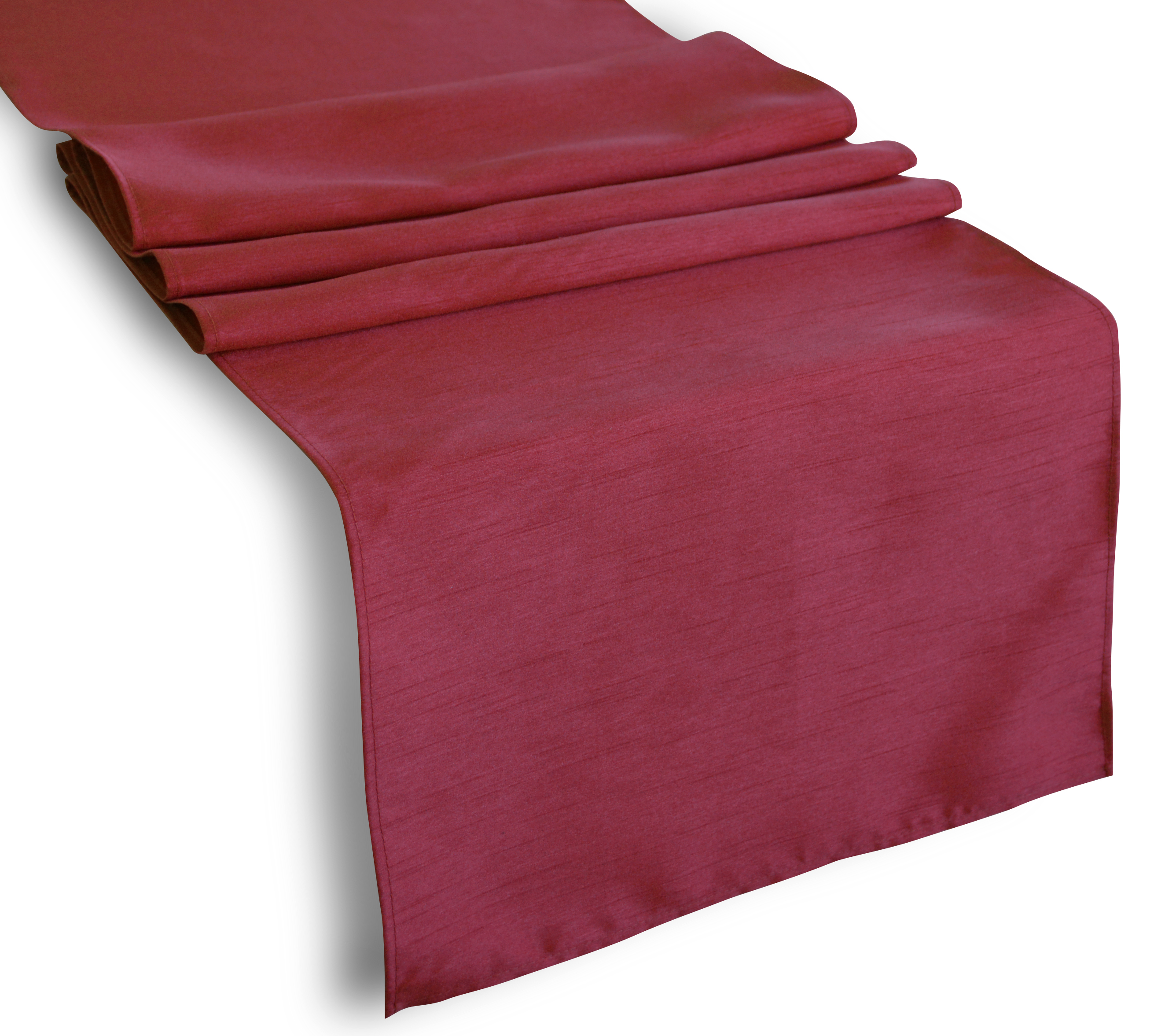 Aiking Home (Pack Of 2) Solid Faux Silk Table Runner, Burgundy Size  13u0027u0027x72u0027u0027  Ideal For Wedding, Baby Shower, Party Decor, Thanksgiving,  Christmas Or ...