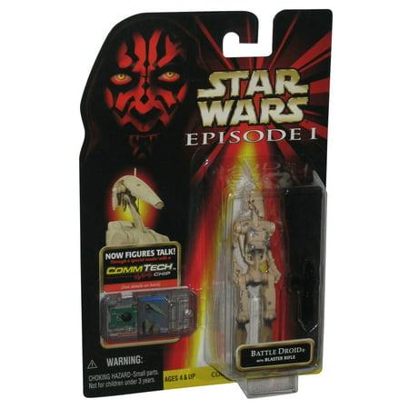 Star Wars Episode I Battle Droid Damage CommTech (1998) Action - Battle Droid Factory