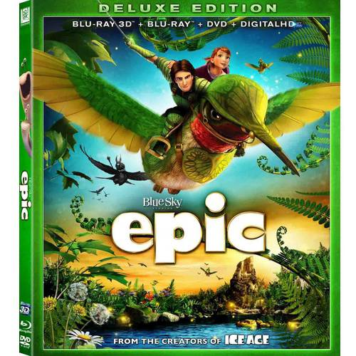 Epic (Deluxe Edition) (Blu-ray 3D + Blu-ray + DVD + Digital HD) (With INSTAWATCH) (Widescreen)