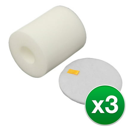 Replacement Vacuum Foam Filter for Shark NV500 Vacuums - 3 - Shark Foam Hat