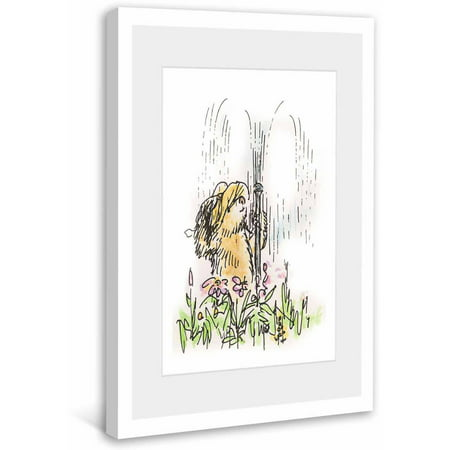 Paddington Bear Fun in the Sprinkler Framed Art Print