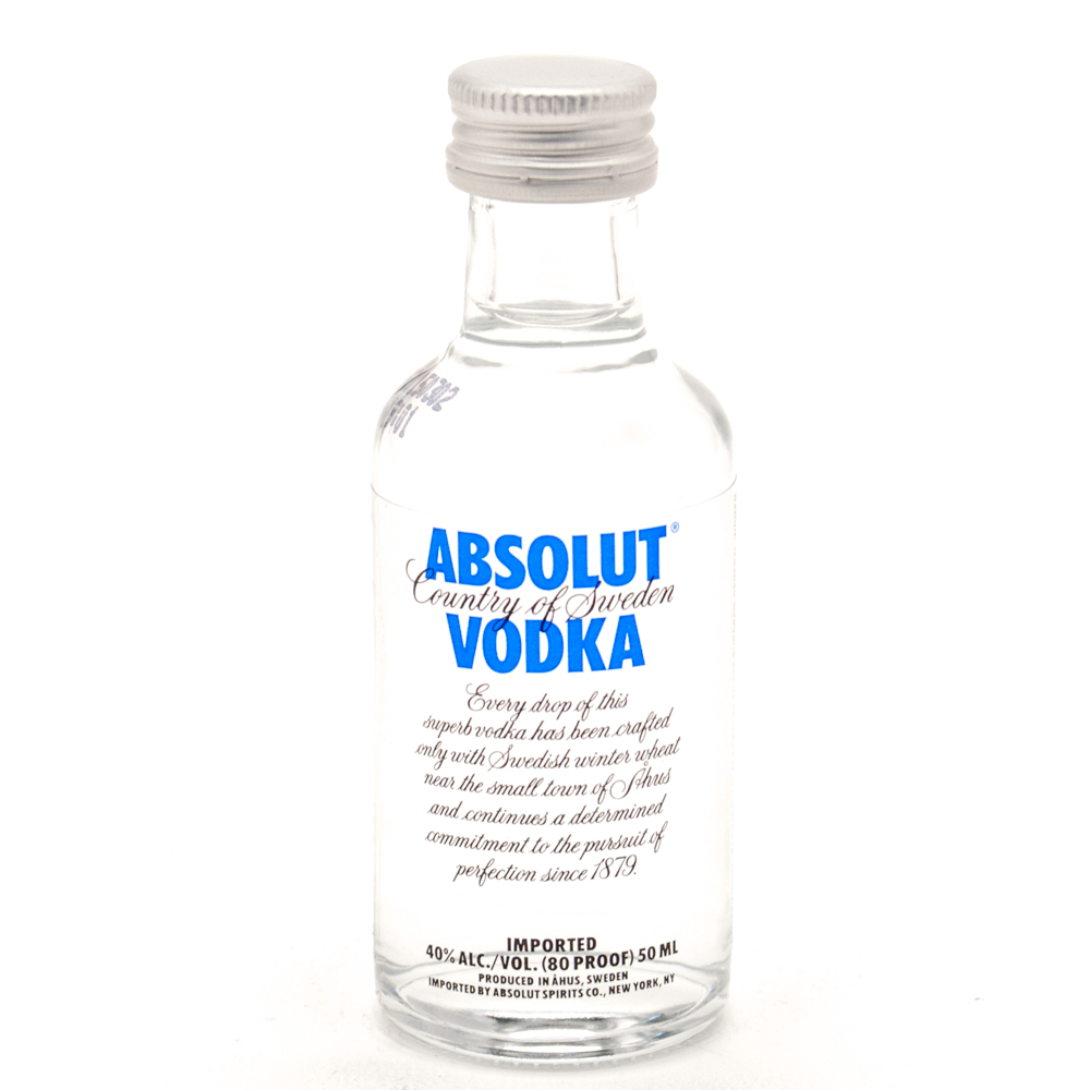 Image of Absolut Blue Vodka, 50 mL