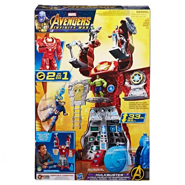 Hasbro HSBE0565 6 in. Avengers Hulkbuster Ultimate Fig HQ, 2 Count by Hasbro