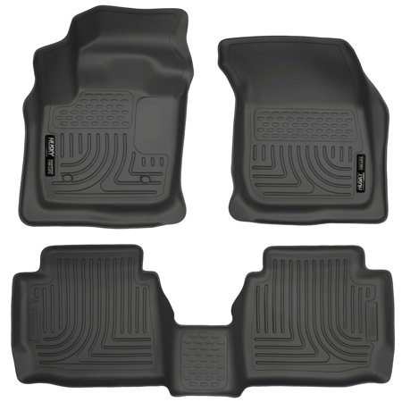 Husky Liner Weatherbeater 1st & 2nd Floor Liner for Ford Fusion or Lincoln MKZ 2007 Ford F-350 Husky