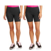 2-Pack Danskin Now Women's Dri-More Core Bike Shorts