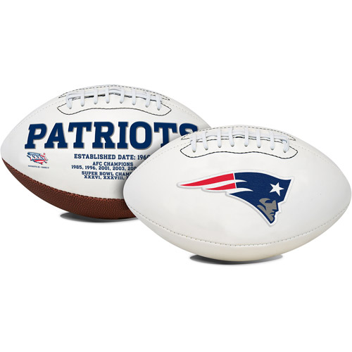 Rawlings Signature Series Full-Size Football, New England Patriots