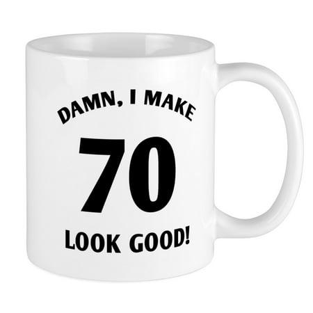 CafePress - 70 Yr Old Gag Gift Mug - Unique Coffee Mug, Coffee Cup