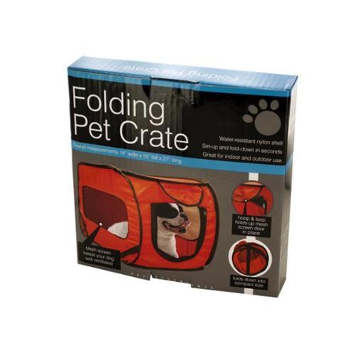 Bulk Buys OD989-2 Folding Pet Crate