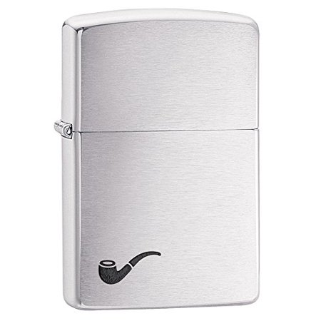 Cigar Pipe Lighter (Zippo Pipe Lighter, Brushed)