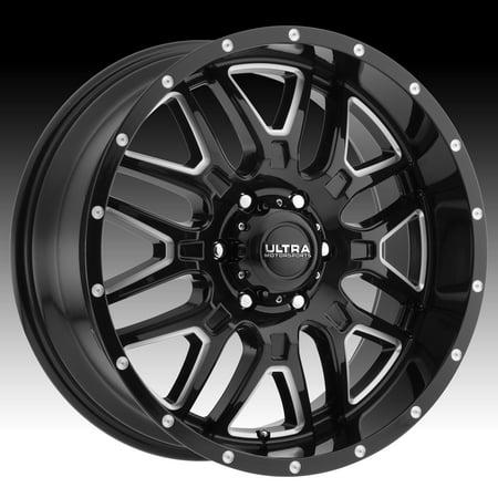 Ultra 203BM Hunter Black Milled 20x10 5x5 -25mm