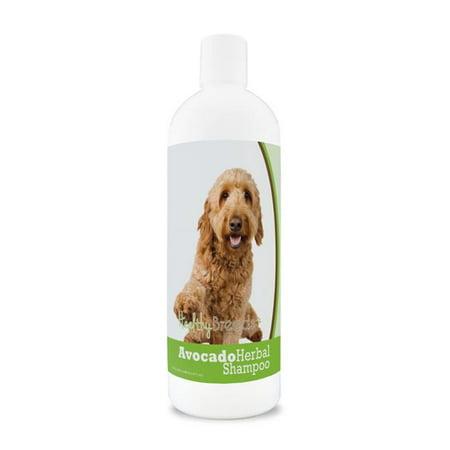 Healthy Breeds 840235156635 Goldendoodle Avocado Herbal Dog Shampoo - image 1 de 1