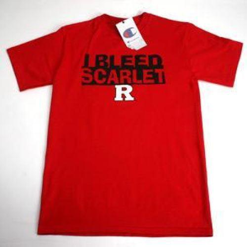 "Rutgers Scarlet Knights ""I Bleed Scarlet"" T-shirt - Scarlet"
