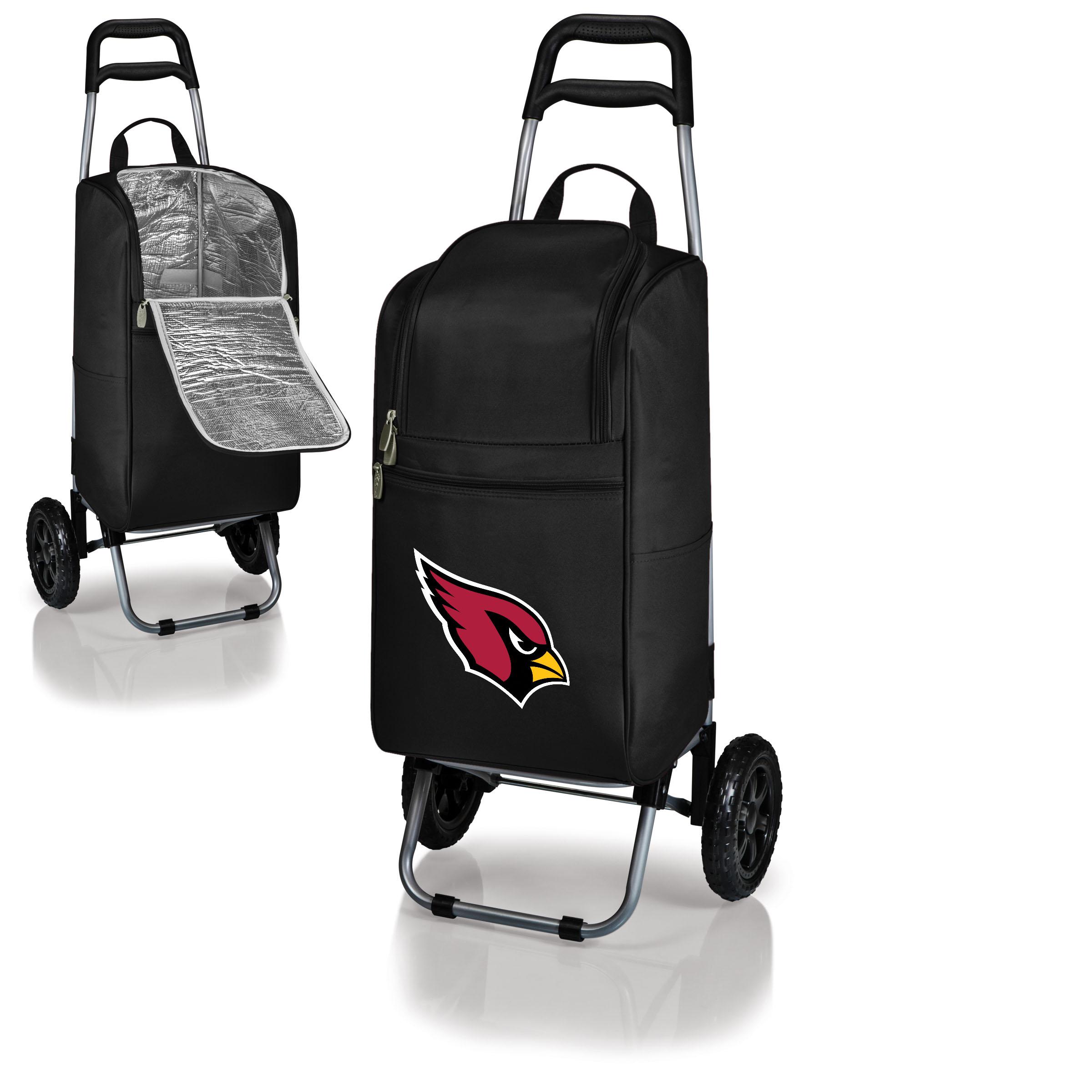 Arizona Cardinals Cart Cooler - Black - No Size