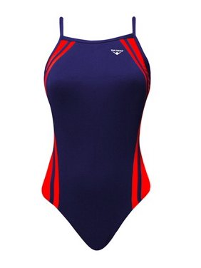 6eab1ffcff0ca Product Image (Price each)The Finals 9864A Women s Reactor Splice Butterfly  Back Swimsuit-Navy