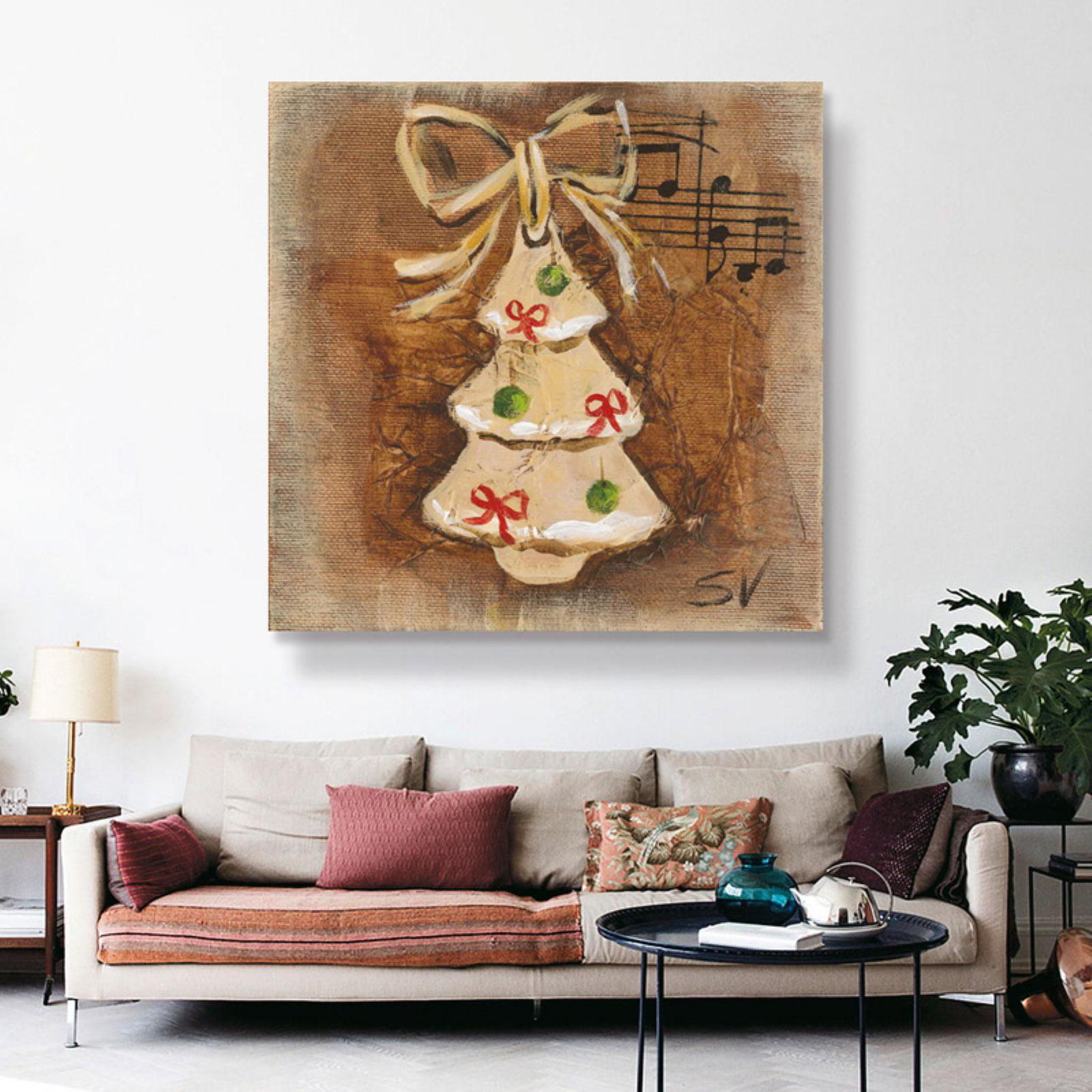 Brushstone Cookie Ornament by Silvia Vassileva Removable Wall Art Mural