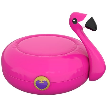 Polly Pocket Big Pocket World Flamingo Floatie Compact