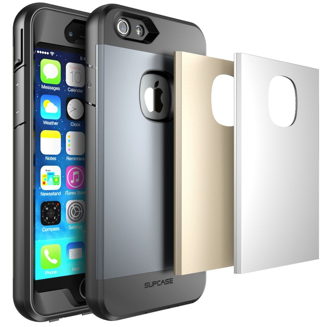 SUPCase Apple iPhone 6 Plus 5.5 inch Case - Ultra-thin Water Resistant, Dust and Impact Proof Protective Cover - Multiple Colors