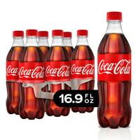 (4 Pack) Coca-Cola Soda, 16.9 Fl Oz, 6 Count