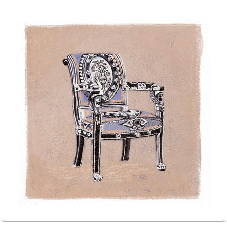 Great BIG Canvas | Rolled Debbie Nicholas Poster Print entitled Urn Chair III