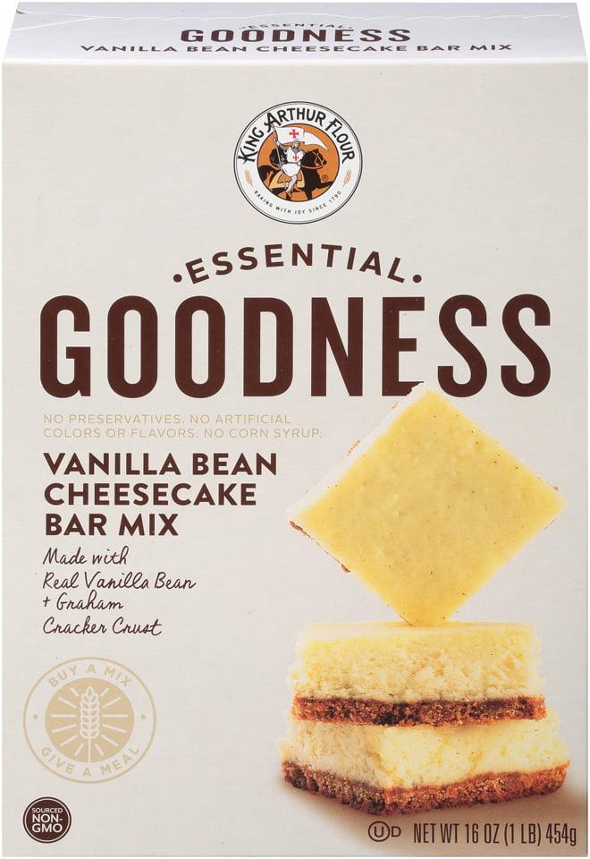 King Arthur Flour Essential Goodness Vanilla Bean Cheesecake Bar Mix, 16.0 OZ by King Arthur Flour