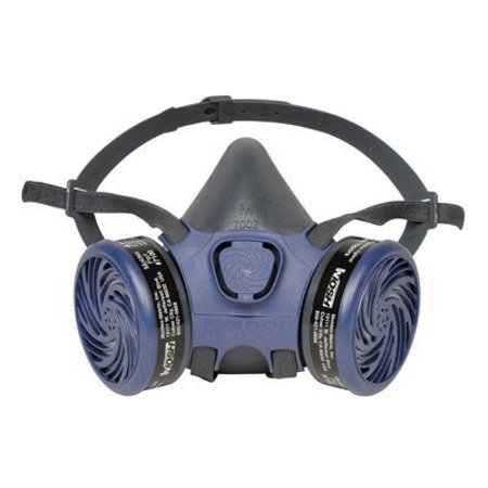 Air Half Mask Respirator - MOLDEX 7113 LARGE PRE-ASSEMBLED 7000HALF MASK RESPIRATOR RE