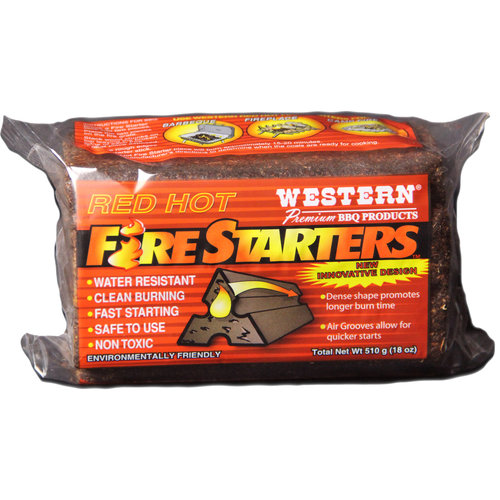 Western Fire Starters, 18-Ounce Bag, 4-pack
