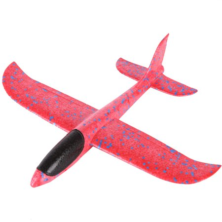 Mosunx Foam Throwing Glider Airplane Inertia Aircraft Toy Hand Launch Airplane Model - Foam Gliders