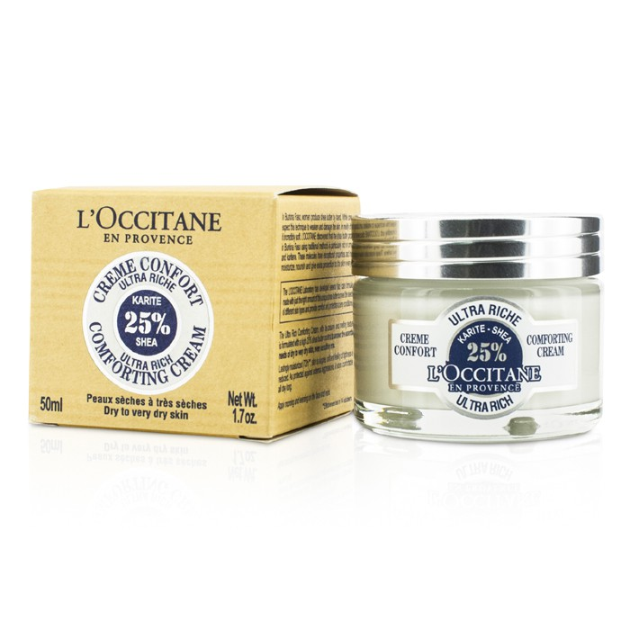 L'Occitane - Shea Ultra Rich Comforting Cream - Dry to Very Dry Skin -50ml/1.7oz