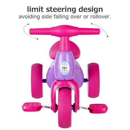 Costway 2 in 1 Toddler Tricycle Balance Bike Scooter Kids Riding Toys w/ Sound & Storage - image 1 of 10