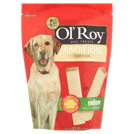 Ol Roy Dog Treats Munchy Bone