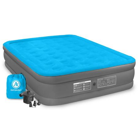 air comfort camp mate queen size raised air mattress. Black Bedroom Furniture Sets. Home Design Ideas