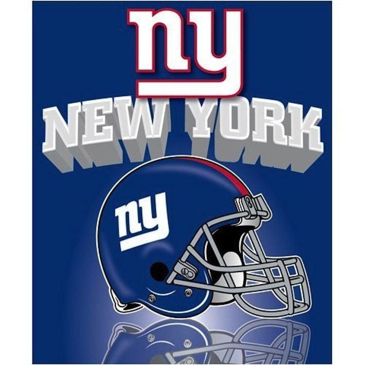New York Giants Fleece Throw