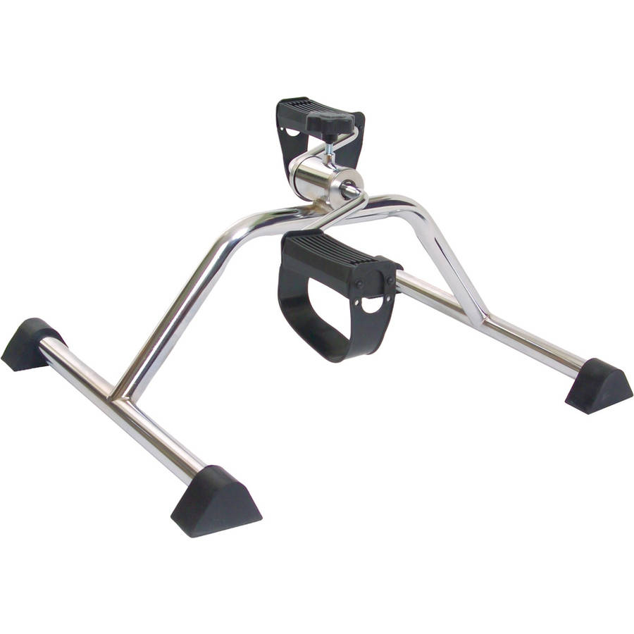 Essential Medical Supply Chrome Pedal Exerciser with Adjustable Tension