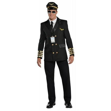 Captain Spaulding Costume (Captain Wingman Adult Costume -)